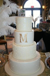 Monogram Cake Oak Mill