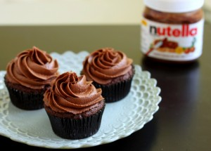 Nutella Cupcakes…why not?