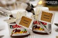 The perfect takeaway for our Nutella loving brides & grooms!