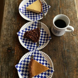 Pie and Coffee…a perfect pairing from bang Bang Pie Shop!
