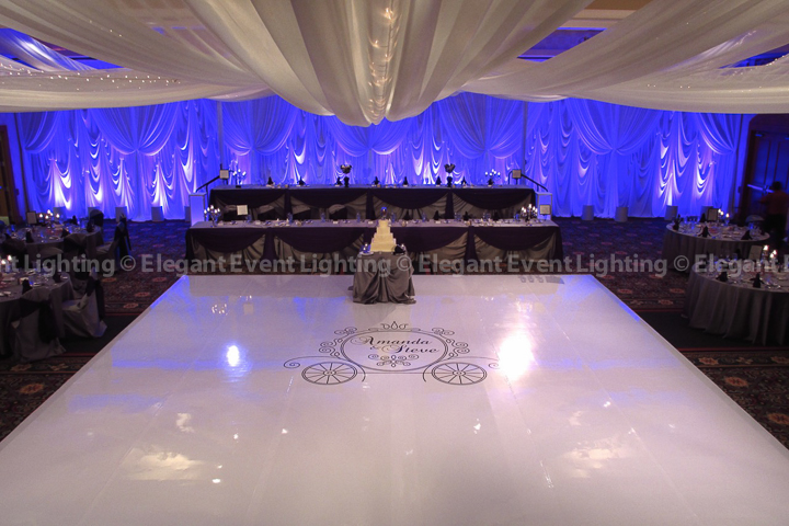 Marriott Burr Ridge | Elegant Event Lighting
