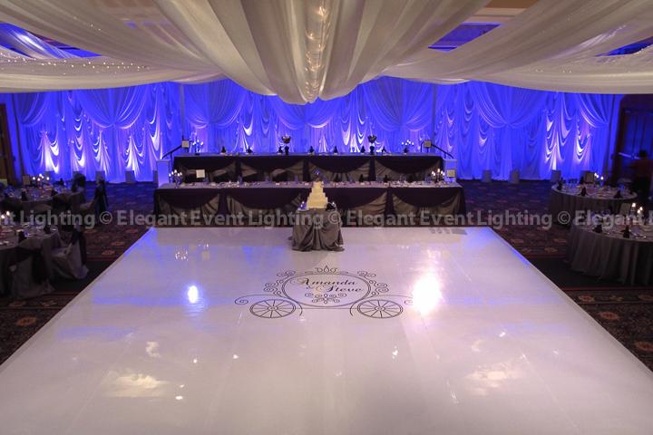 Marriott Burr Ridge | Elegant Event Lighting