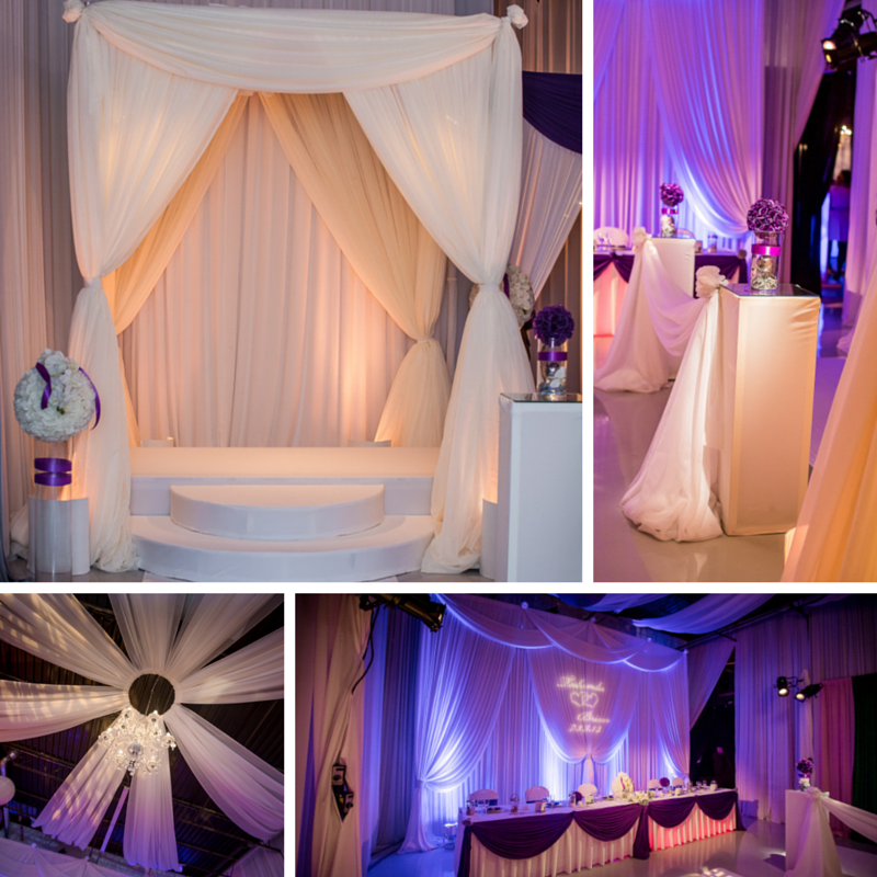 Elegant Event Lighting Design Showroom