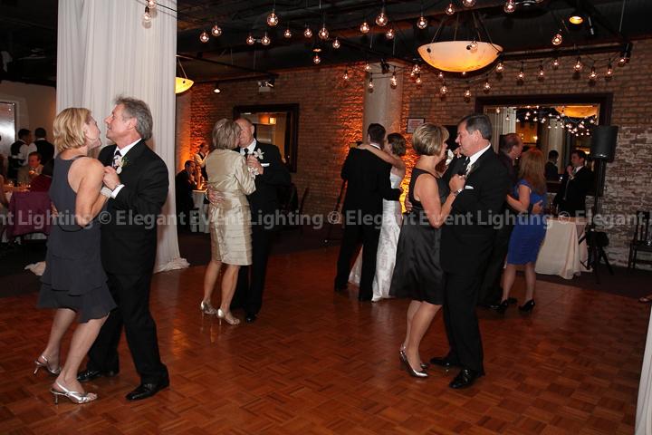 Wedding Cafe Globe Lights | Elegant Event Lighting