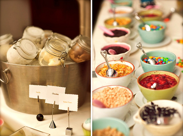 Wedding Ice Cream Sundae Bar Something 2 Dance