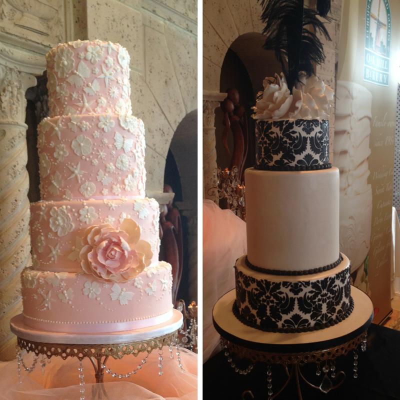 Lace Inspired Wedding Cakes   Oak Mill Bakery