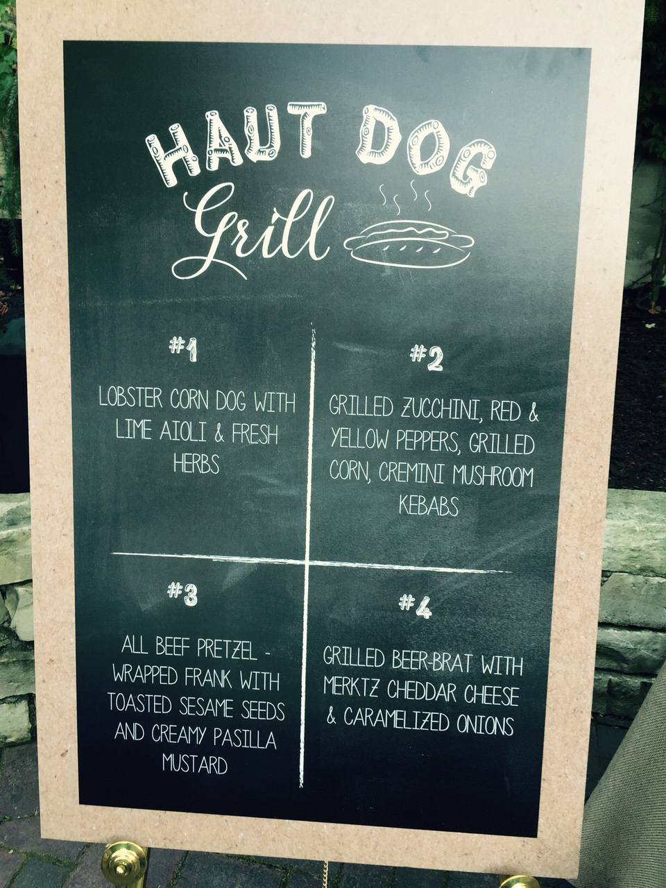 The Haut Dog Grill | The Knot Camp Networking Event