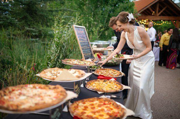 7 late night food bar ideas for your wedding pizza bar something 2 dance 2 junglespirit Choice Image