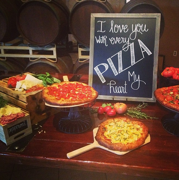 Wedding Food Stations Menu: 6 Ways To Add Pizza To Your Wedding Reception