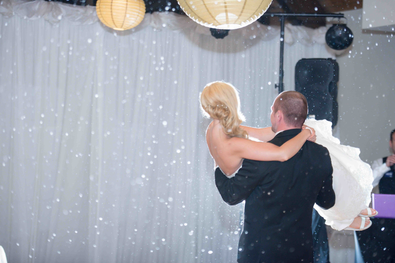 Snow Machine | Elegant Event Lighting