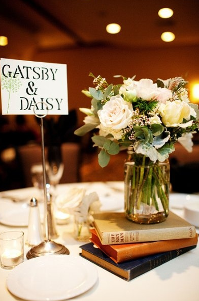 10 ideas for a book inspired wedding character table names junglespirit Choice Image