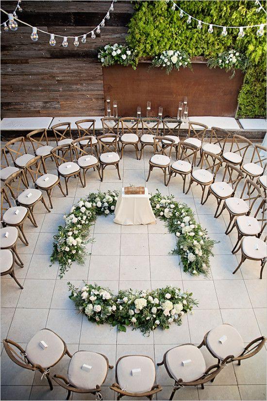 Round Ceremony Setup