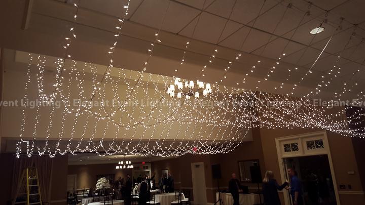 Fairy Light Ceiling Canopy | Arrowhead Golf Club