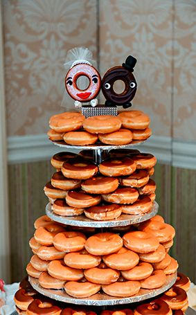 doughnut wedding cake national donut day 13710