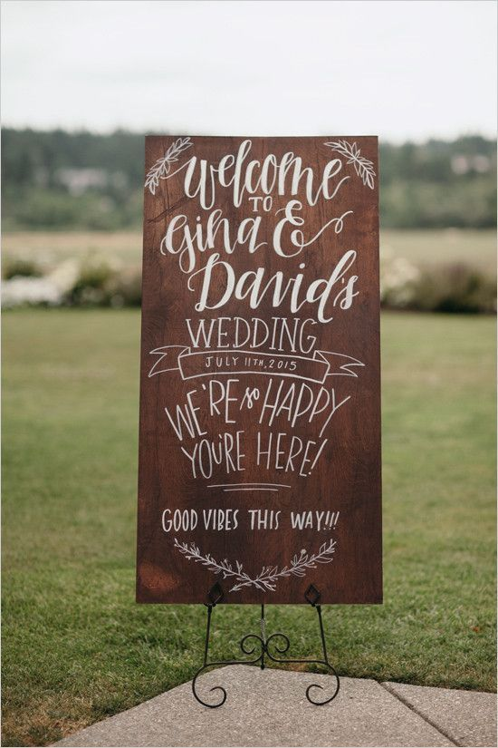 12 creative wedding sign ideas junglespirit Choice Image