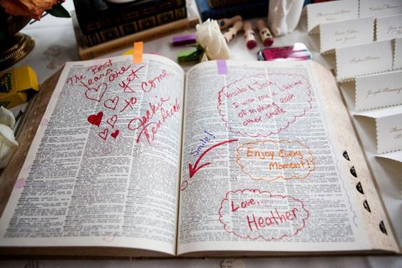 Unique Wedding Ideas.10 Unique Wedding Guestbook Ideas Something 2 Dance 2