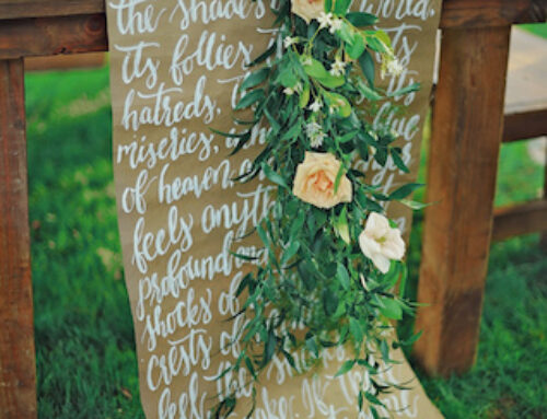 6 Ways to Use Kraft Paper at Your Wedding!