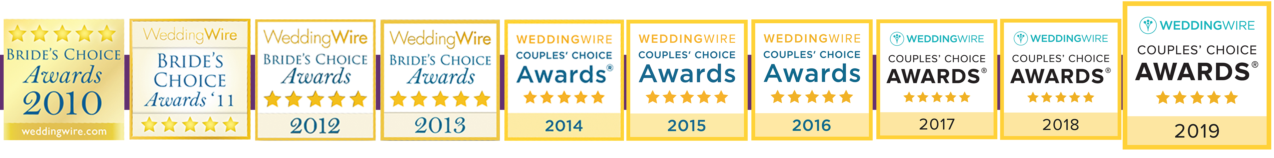 Wedding Wire Couples Choice Award Chicago
