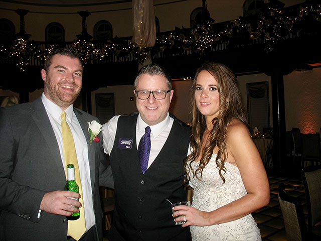 St. Charles Hotel Baker New Year's Eve Wedding